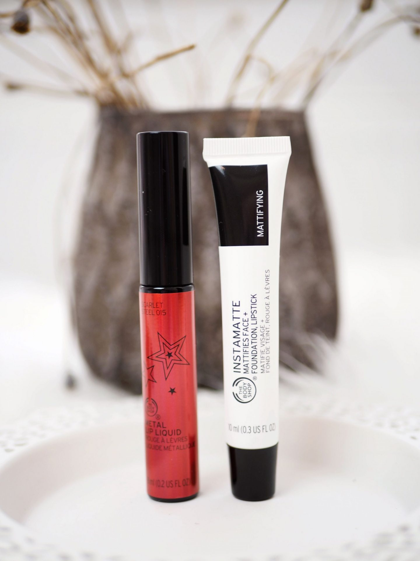 The Body Shop Matte Lip Liquid und Instamatte